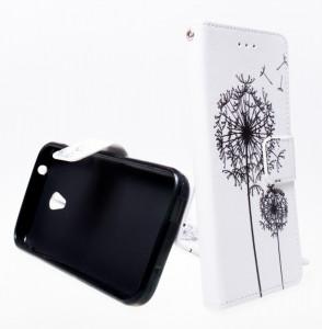 Pouzdro Wallet Design Alcatel U5 4047D Pampeliška