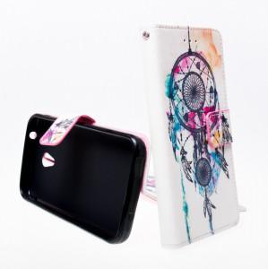 Pouzdro Wallet Design Alcatel U5 4047D Mandala