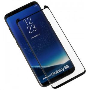 Full Glue 5D tvrzené sklo Samsung Galaxy A40 A405 Černé 24321