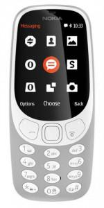 Nokia 3310 2017 Single SIM Grey