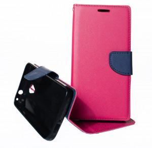 Fancy book Alcatel U5 4G 5044Y / 5044D Růžové