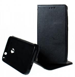 Puzdro Smart Magnet Alcatel U5 4G 5044Y / 5044D Černé
