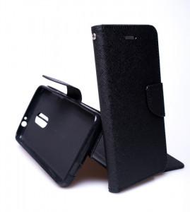 Fancy Book case - Alcatel A7 5090Y Černé