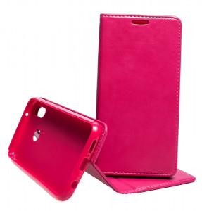 Pouzdro Magnet Book Flexi Huawei P20 Lite Růžové