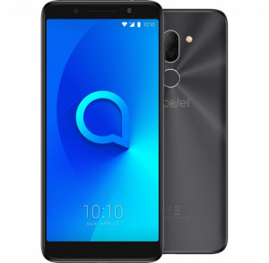 ALCATEL 3X 5058I Dual SIM Metallic Black