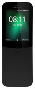 NOKIA 8110 4G DS Black