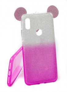 Pouzdro Mickey TPU Xiaomi Redmi S2 Růžové
