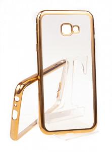 Pouzdro Bumper TPU Samsung Galaxy J4+ 2018 J415 Zlaté