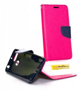 Pouzdro Telone FANCY Diary Xiaomi Redmi 6 Růžové