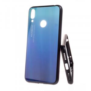 Pouzdro Rainbow Glass Xiaomi Redmi Note 7 Modré