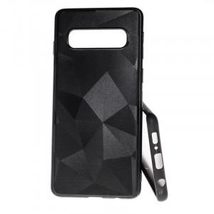 Pouzdro Prism Diamond Matt Samsung Galaxy S10 G973 Černé