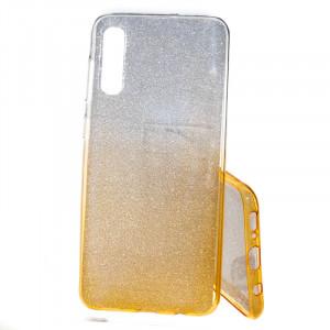 Pouzdro Shine Case pro Samsung Galaxy A50 A505 Zlaté