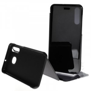 Pouzdro Clear View Samsung Galaxy A50 A505 Černé