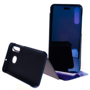 Pouzdro Clear View Samsung Galaxy A50 A505 Modré
