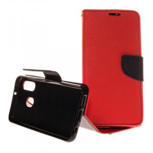 Pouzdro TEL1 Fancy Diary Samsung Galaxy A40 A405 Červené