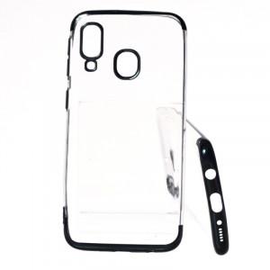 Pouzdro Elegance Samsung Galaxy A40 A405 Černé