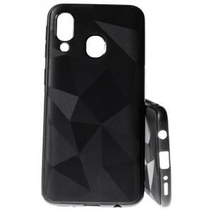 Pouzdro Prism Diamond Matt Samsung Galaxy A40 A405 Černé