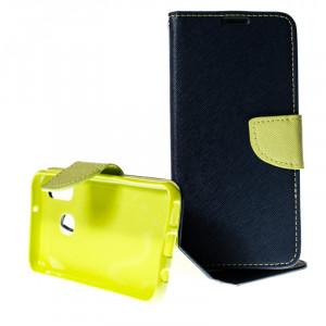 Pouzdro TEL1 Fancy Diary Samsung Galaxy A40 A405 Modré