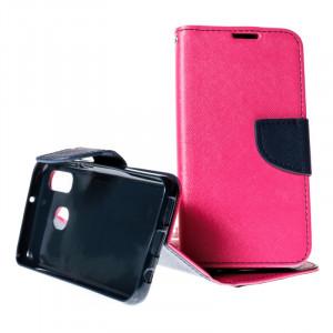 Pouzdro TEL1 Fancy Diary Samsung Galaxy A40 A405 Růžové