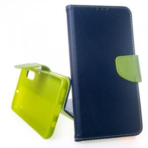 Pouzdro TEL1 Fancy Diary Samsung Galaxy A50 A505 Modré
