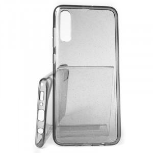 Pouzdro Crystal Glitter Samsung Galaxy A50 A505 Černé