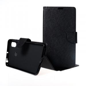 Pouzdro Telone FANCY Diary Xiaomi Mi Max 3 Černé