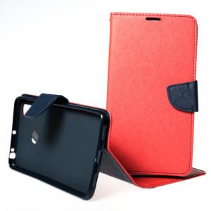Pouzdro Telone FANCY Diary Xiaomi Mi Max 3 Červené