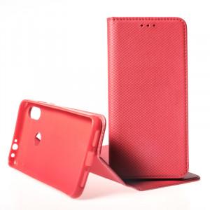 Pouzdro Smart Case Book pro Xiaomi Redmi Note 7 Červené
