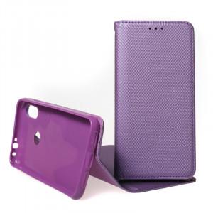 Pouzdro Smart Case Book pro Xiaomi Redmi Note 7 Fialové