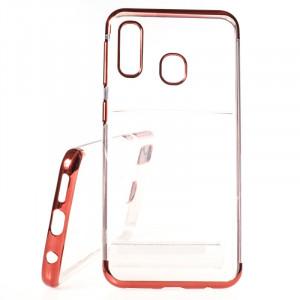 Pouzdro Elegance Samsung Galaxy A20e A202 Červené
