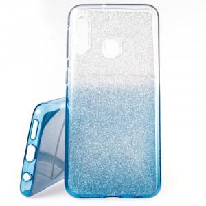 Pouzdro Shine Case pro Samsung Galaxy A20e A202 Modré