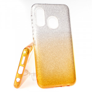 Pouzdro Bling Samsung Galaxy A20e A202 Zlaté