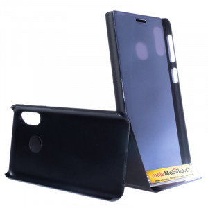 Pouzdro Clear View Samsung Galaxy A20e A202 Černé
