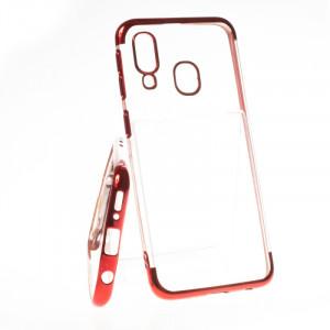 Pouzdro Elegance Samsung Galaxy A40 A405 Červené