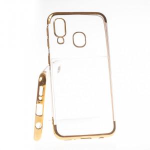 Pouzdro Elegance Samsung Galaxy A40 A405 Zlaté