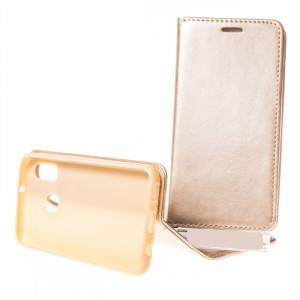 Pouzdro Magnet book Samsung Galaxy A20e A202 Zlaté