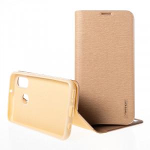 Pouzdro Vennus Book Samsung Galaxy A40 A405 Zlaté