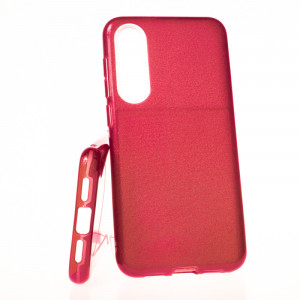 Pouzdro Glitter 3V1 Case Xiaomi Mi 9 SE Červené