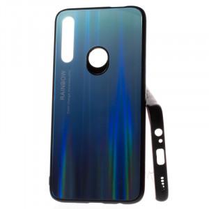 Puzdro Rainbow Glass Huawei P Smart Z Modré