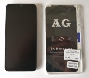 2,5D Matte Glass Xiaomi Redmi Note 7 Černé