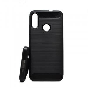 Puzdro Forcell CARBON na Motorola E6 Plus Černé