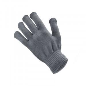 Rukavice na dotykový displej šedé