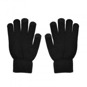 Rukavice na dotykový displej TRIANGLE dámské černé