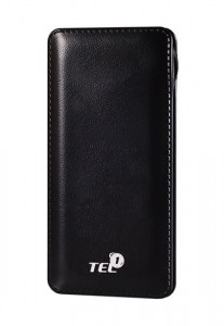 Tel1one Power bank 12000 mAh Black