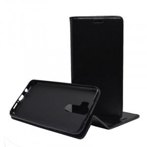 Pouzdro Magnet Book Flexi Xiaomi Redmi Note 8 Pro Černé
