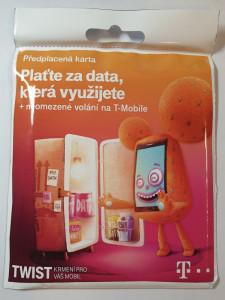T-MOBILE CZECH REPUBLIC A.S. T-Mobile Plaťte za data která využijete + neomezené volání, 2