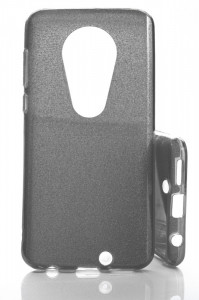 Puzdro Glitter 3V1 Case Motorola Moto G7 Černé