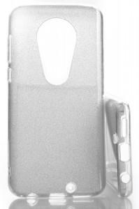 Puzdro Glitter 3V1 Case Motorola Moto G7 Stříbrné
