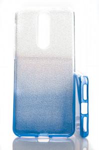 Puzdro Shine Case pre Alcatel 3 2019 Modré