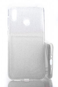 Puzdro Shine Case pre Asus Zenfone Max M2 ZB633KL Stříbrné